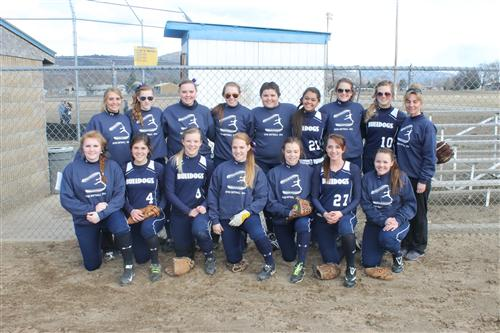 Softball Varsity Team