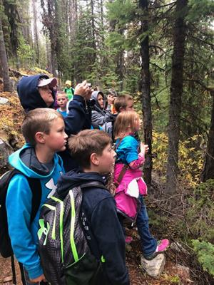 Last Wednesday, the Kettle Falls 4thGrade CREW went to Sherman Pass for their first Adventure.