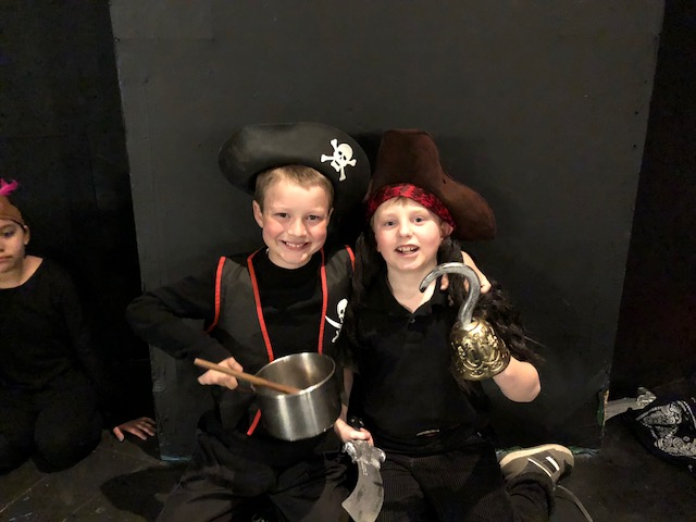 Peter Pan Play at the Woodland Theater