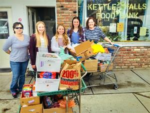 Middle School Food Drive