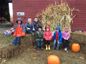 What a great day at the pumpkin patch!