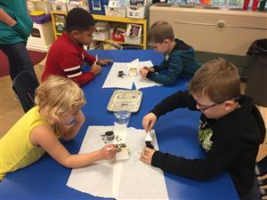 "Scientists experiment...""What will happen to our seeds?"""