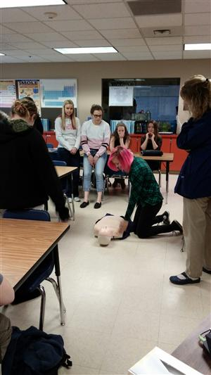 Human biology getting Certified in CPR